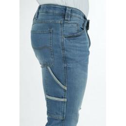 RICA LEWIS mod. JOB Pantalone pantaloni da lavoro jeans resistenti con tasconi