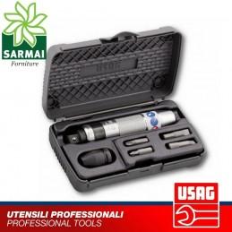 USAG 700 1/2 C6 ASSORTIMENTO IN CASSETTA DI ABS CON GIRAVITE A PERCUSSIONE 6 PZ
