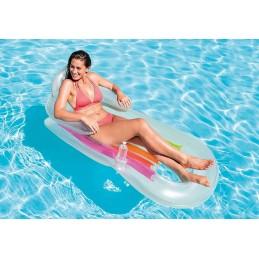 Intex 58802 Lettino materassino poltrona gonfiabile galleggiante mare piscina