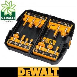 DeWALT DT90016-QZ SET 12 pz PUNTE FRESE DA LEGNO TAGLIO RAPIDO GAMBO 8 mm