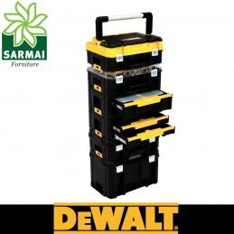 DeWALT sistema TSTAK modulare impilabile valigetta per attrezzi utensili