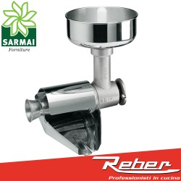 Reber 8700N Accessorio optional spremipomodoro n°5 per motori da 500W 600W 1200W
