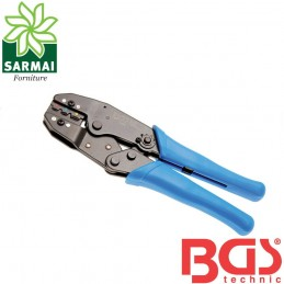 BGS 1426 pinza crimpatrice a cricchetto per capicorda isolati Ø 0,5 a 6 mm²