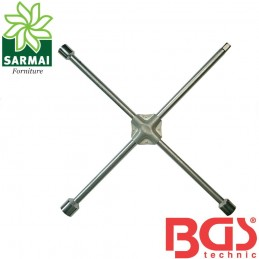 BGS 1457 chiave a croce per dadi ruote camion bussole 24/27/32 mm attacco 3/4""