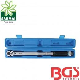 """BGS 965 chiave dinamometrica a scatto cricchetto reversibile 42-210 Nm 1/2"""""""