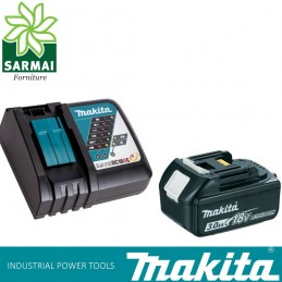 KIT ENERGY 191A24-4 MAKITA BATTERIA BL1830B 18 V 3,0 Ah + DC18RC CARICABATTERIE