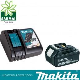 KIT ENERGY 191A24-4 MAKITA BATTERIA BL1830B 18 V 3,0 Ah + DC18RC CARICABATTERIE