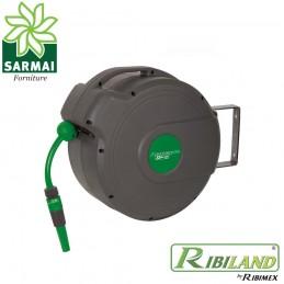 Ribiland Avvolgitubo automatico Acquapro 20 m tubo avvolgibile acqua irrigazione