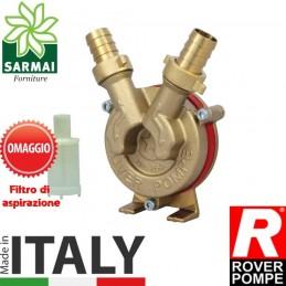 Pompa travaso in ottone per trapano Rover Drill 20 vino olio liquidi universali