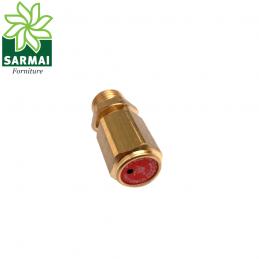 Valvola di sicurezza tarata scarico compressore aria attacco 1/4 taratura 8 bar