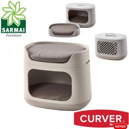 CURVER cuccia 3 in 1 divanetto divano letto lettino trasportino per cane gatto