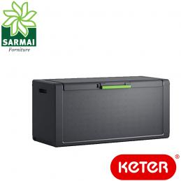KETER MOBY baule cassone portatutto cassapanca panca da esterno certificata IPX3