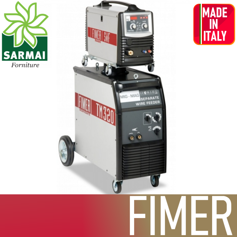 FIMER TM320W generatore saldatrice standard MIG MAG 400V 300A professionale