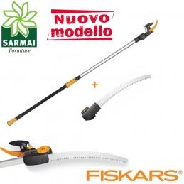 FISKARS UPX82 + SEGHETTO svettatoio troncarami NON TELESCOPICO fino a H 3,5 m