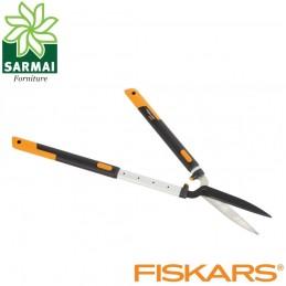 FISKARS HS86 Cesoie telescopiche SmartFit manici in alluminio per siepi arbusti