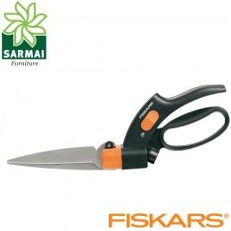 FISKARS GS42 Forbici per erba con lama rotabile rabolabile a 360° da giardino