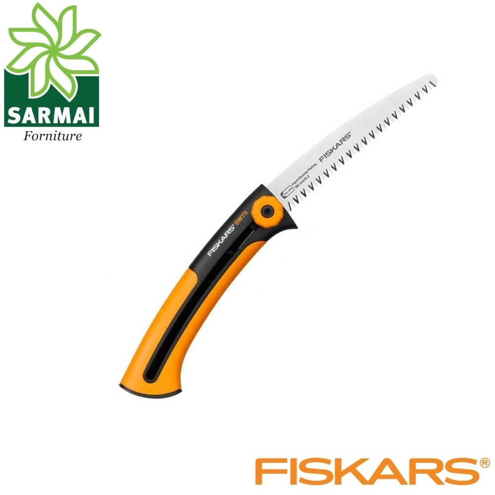 FISKARS Xtract S SW73 SEGHETTO DA POTATURA GIARDINO CON LAMA ESTRAIBILE 16 Cm
