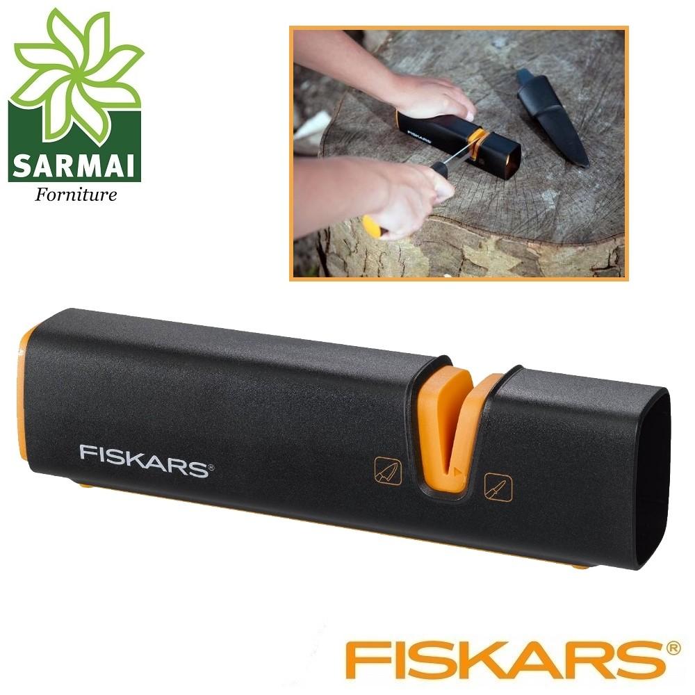 Affilalama FISKARS XSHARP affilacoltelli asce portatile e leggero