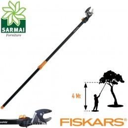 FISKARS UP84 SVETTATOIO TRONCARAMI FISSO 232 CM POTATURA RAMI FINO A 4 M 1,1 Kg