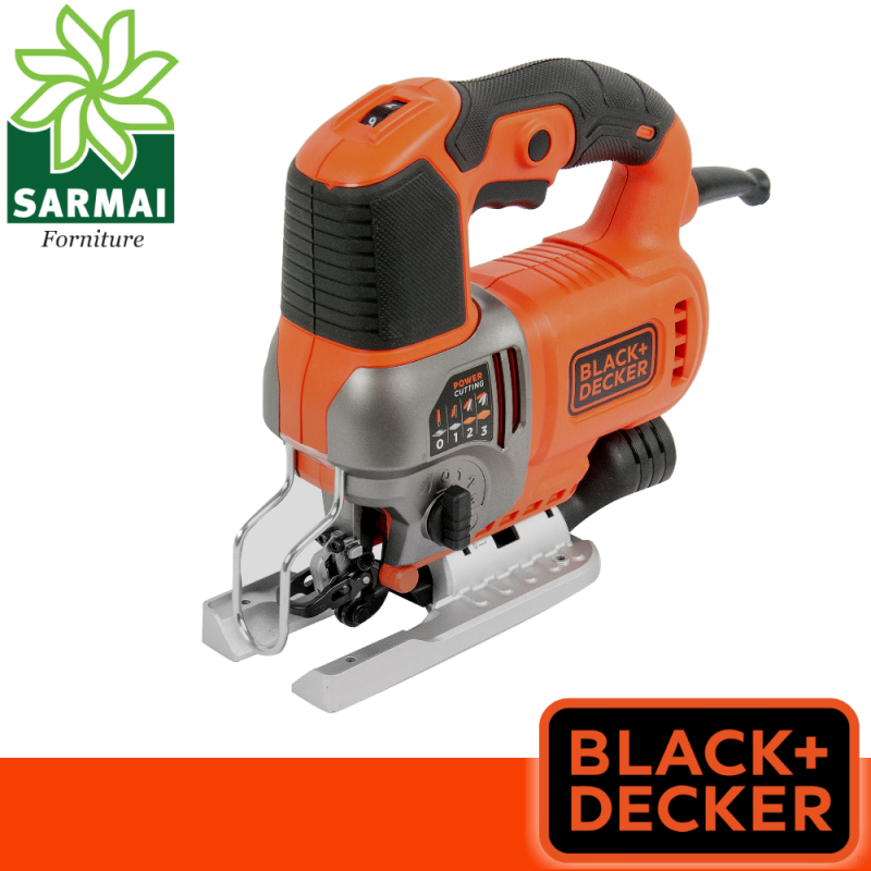 Black+Decker seghetto alternativo 550W autoselect pendolare metallo pvc legno