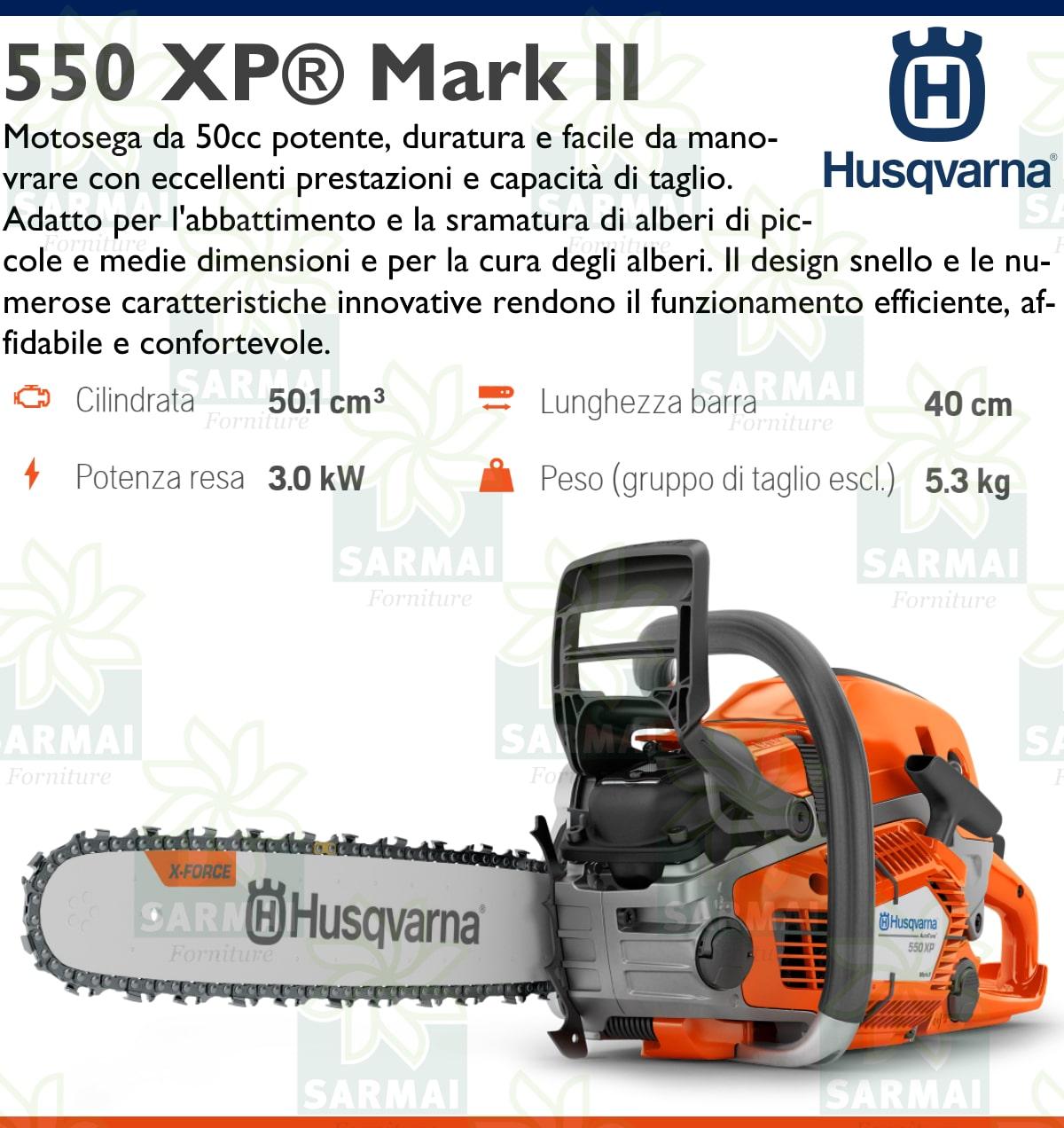 DESCRIZIONE 550 XP