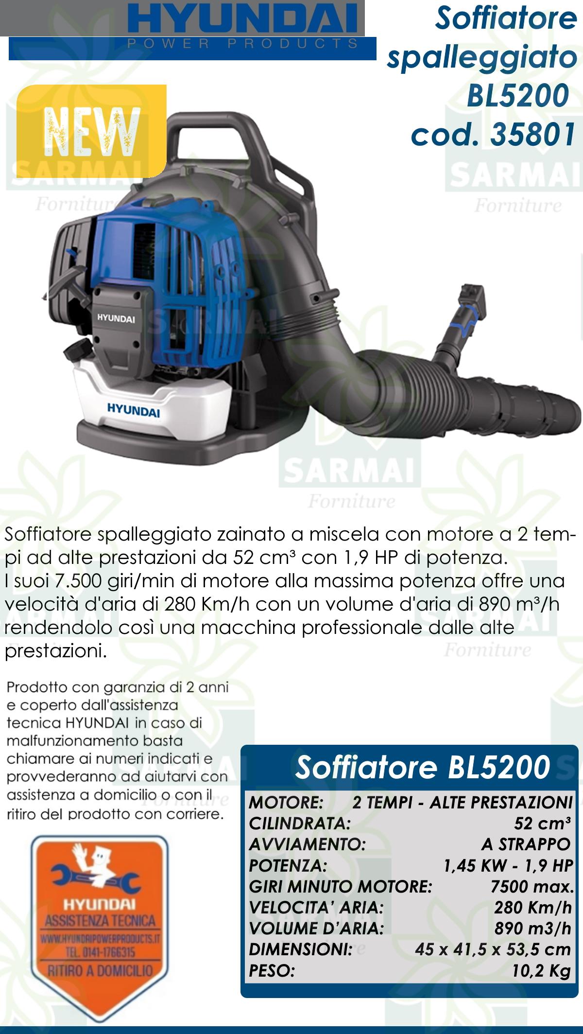 DESCRIZIONE BL5200