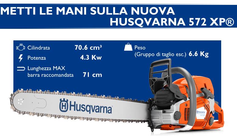 Nuova HUSQVARNA 572 XP®